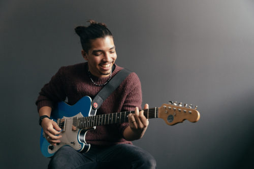 Richie Nobrega Jr. Wins CCLI's Veritas Guitar Giveaway