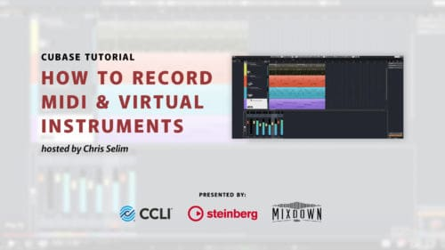 How to Record Midi & Virtual Instruments