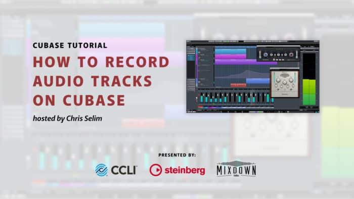 Recording Instruments and Vocals