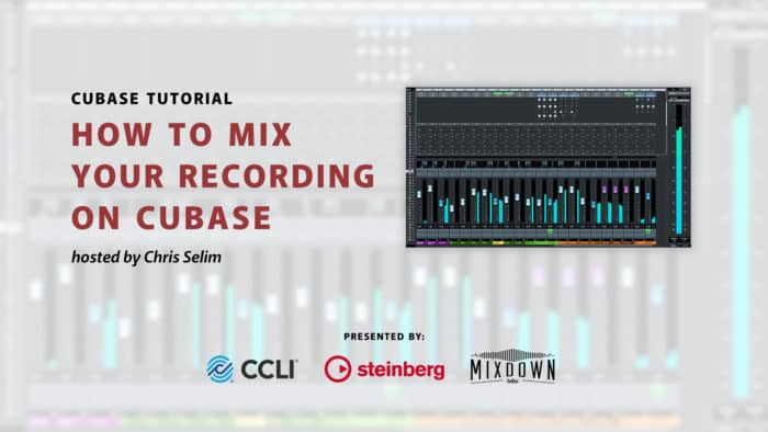 How To Mix and Export Your Recording Project