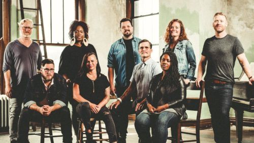 How does your worship team write songs?