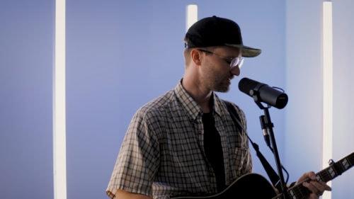 Seth Condrey of North Point Worship performing I Fall
