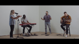 Elevation Worship performing an acoustic rendition of The Blessing